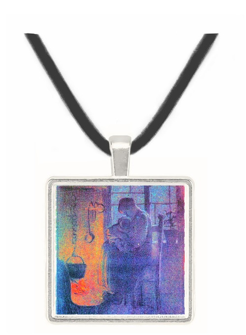 Orphans by Segantini -  Museum Exhibit Pendant - Museum Company Photo