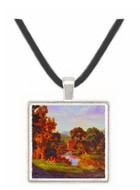 Our Old Mill - George Innes -  Museum Exhibit Pendant - Museum Company Photo
