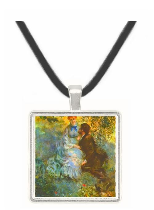 Pair of Lovers by Renoir -  Museum Exhibit Pendant - Museum Company Photo