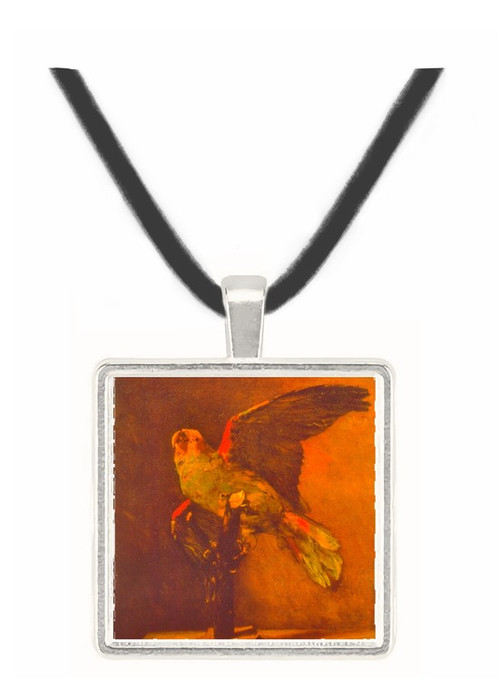 Parrot -  Museum Exhibit Pendant - Museum Company Photo