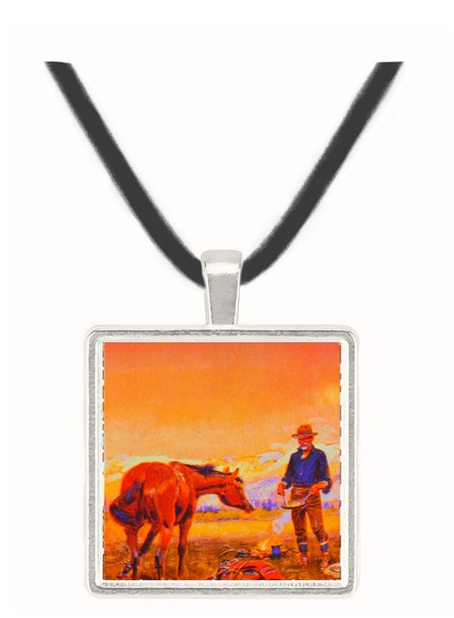 Partners - Charles M. Russell -  Museum Exhibit Pendant - Museum Company Photo