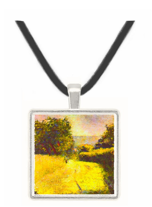 Path by Seurat -  Museum Exhibit Pendant - Museum Company Photo