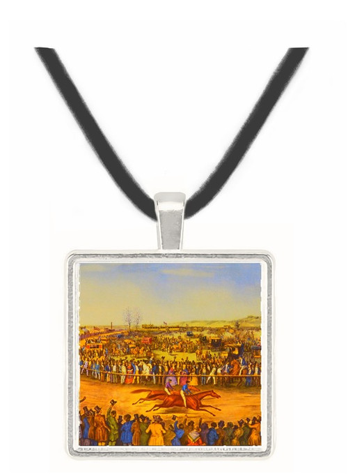 Peytona and Fashion - Currier and Ives -  Museum Exhibit Pendant - Museum Company Photo