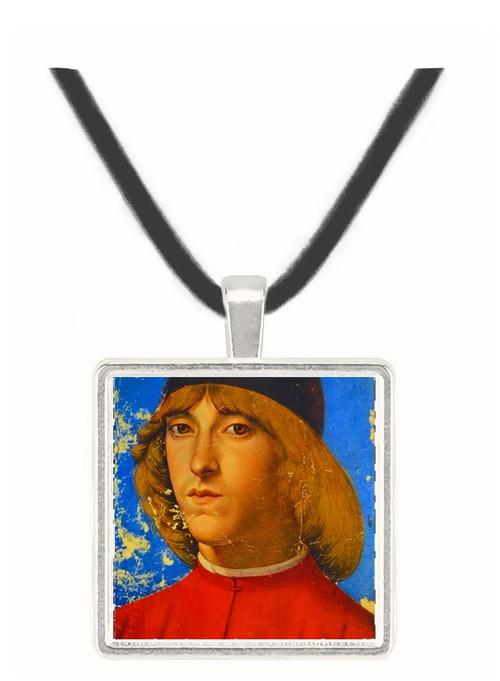 Piero di Lorenzo de Medici - Domenico Ghirlandaio -  Museum Exhibit Pendant - Museum Company Photo