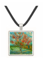 Pink Peach Trees Souvenir de Mauve by Van Gogh -  Museum Exhibit Pendant - Museum Company Photo