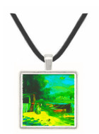 Place for Bading by Renoir -  Museum Exhibit Pendant - Museum Company Photo