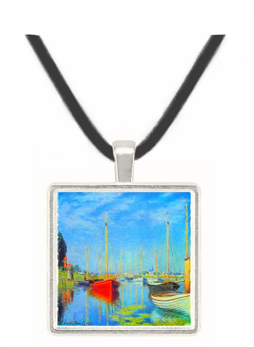Pleasure Boats at Argenteuil by Monet -  Museum Exhibit Pendant - Museum Company Photo