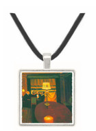 Poker players by Felix Vallotton -  Museum Exhibit Pendant - Museum Company Photo