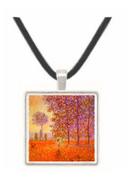 Poplars in the sunlight -  Museum Exhibit Pendant - Museum Company Photo