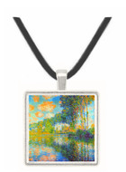 Poplars on the Epte -  Museum Exhibit Pendant - Museum Company Photo