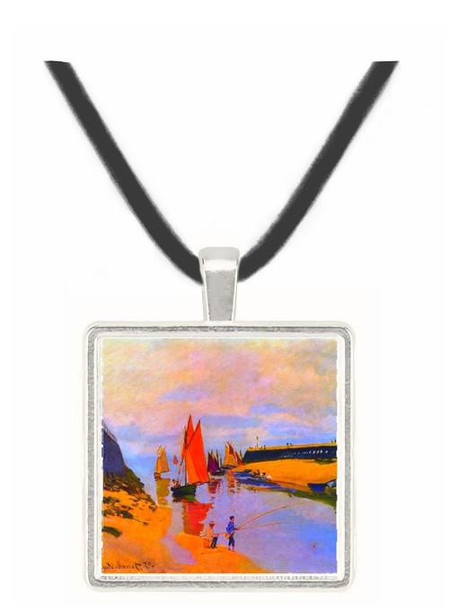 Port of Trouville by Monet -  Museum Exhibit Pendant - Museum Company Photo