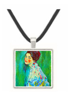 Portrait of a Lady by Klimt -  Museum Exhibit Pendant - Museum Company Photo