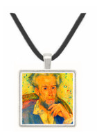 Portrait of a man by Renoir -  Museum Exhibit Pendant - Museum Company Photo