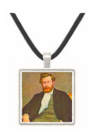 Portrait of Alfred Sisley by Renoir -  Museum Exhibit Pendant - Museum Company Photo