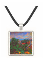 Portrait of Aline Charigot (Madame Renoir) by Renoir -  Museum Exhibit Pendant - Museum Company Photo