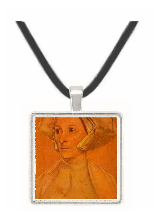 Portrait of an English Lady... - Hans Holbein the Younger -  Museum Exhibit Pendant - Museum Company Photo