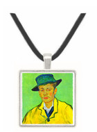 Portrait of Armand Roulin by Van Gogh -  Museum Exhibit Pendant - Museum Company Photo