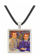 Portrait of Charles and George by Renoir -  Museum Exhibit Pendant - Museum Company Photo