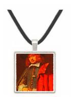 Portrait of Jan Six - Rembrandt Harmenszoon van Rijn -  Museum Exhibit Pendant - Museum Company Photo