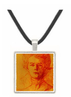 Portrait of Jane Avril - Henri de Toulouse Lautrec -  Museum Exhibit Pendant - Museum Company Photo