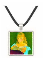 Portrait of Lina Campineanu by Manet -  Museum Exhibit Pendant - Museum Company Photo