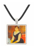 Portrait of Madame Clapisson by Renoir -  Museum Exhibit Pendant - Museum Company Photo