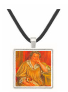 Portrait of Madame Renoir with Bob by Renoir -  Museum Exhibit Pendant - Museum Company Photo