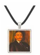 Portrait of Maurice Gangnat by Renoir -  Museum Exhibit Pendant - Museum Company Photo