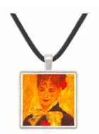 Portrait of Mme  Iscovesco by Renoir -  Museum Exhibit Pendant - Museum Company Photo