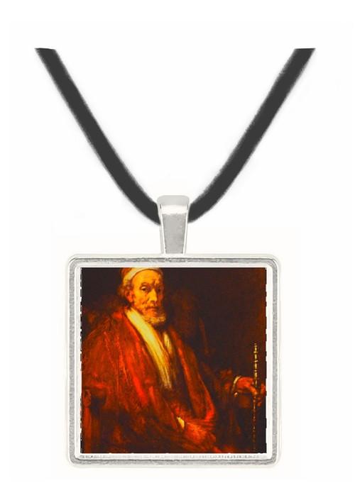 Portrait of Old Man with... - Rembrandt Harmenszoon van Rijn -  Museum Exhibit Pendant - Museum Company Photo