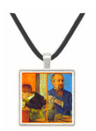 Portrait of Sculptor with Son by Gauguin -  Museum Exhibit Pendant - Museum Company Photo