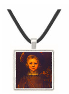 Portrait of the Artists... - Rembrandt Harmenszoon van Rijn -  Museum Exhibit Pendant - Museum Company Photo