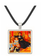 Portrait of the Mrs. Charpentier  and her children by Renoir -  Museum Exhibit Pendant - Museum Company Photo