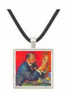 Portrait of Vollard by Renoir -  Museum Exhibit Pendant - Museum Company Photo
