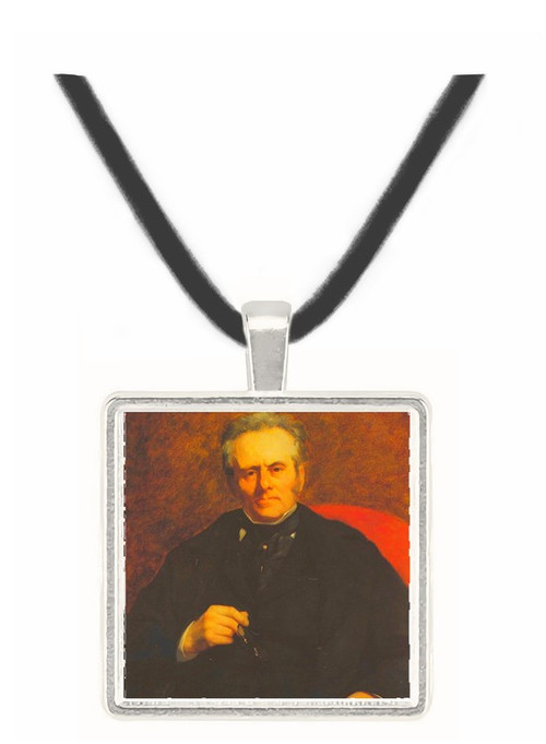 Portrait of William Sisley by Renoir -  Museum Exhibit Pendant - Museum Company Photo