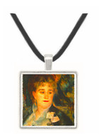 Portraits of Mme Charpentier by Renoir -  Museum Exhibit Pendant - Museum Company Photo