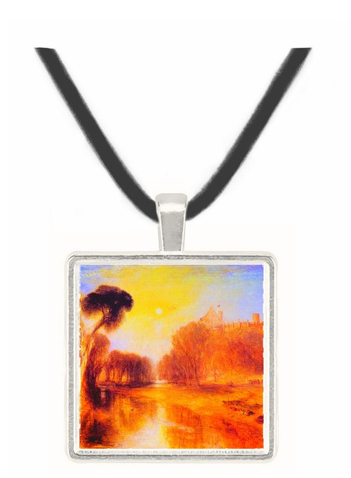 Prince Albert, Coburg Germany by Joseph Mallord Turner -  Museum Exhibit Pendant - Museum Company Photo
