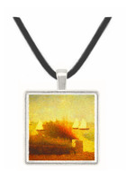 Race in Grandcamp by Seurat -  Museum Exhibit Pendant - Museum Company Photo