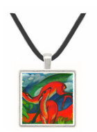 Red Deer II by Franz Marc -  Museum Exhibit Pendant - Museum Company Photo