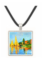 Regatta at Argenteuil by Monet -  Museum Exhibit Pendant - Museum Company Photo