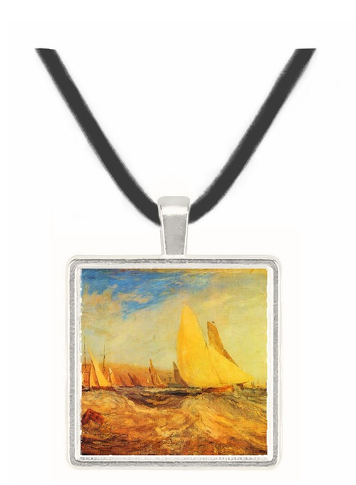 Regatta by Joseph Mallord Turner -  Museum Exhibit Pendant - Museum Company Photo