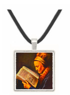 Rembrandts Mother - Gerard Dou -  Museum Exhibit Pendant - Museum Company Photo