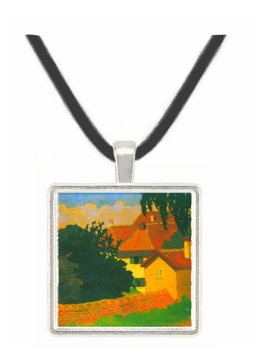 Remembering Romanel by Felix Vallotton -  Museum Exhibit Pendant - Museum Company Photo