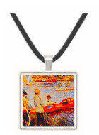 Remeros - Auguste Renoir -  Museum Exhibit Pendant - Museum Company Photo