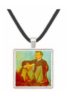 Renoir by Bazille -  Museum Exhibit Pendant - Museum Company Photo