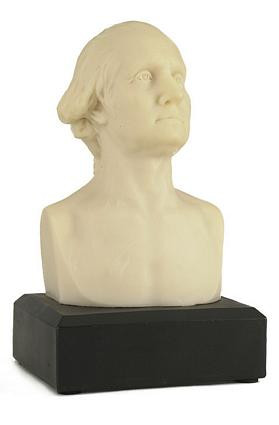 U.S. President George Washington - Small Houdon Bust - Photo Museum Store Company