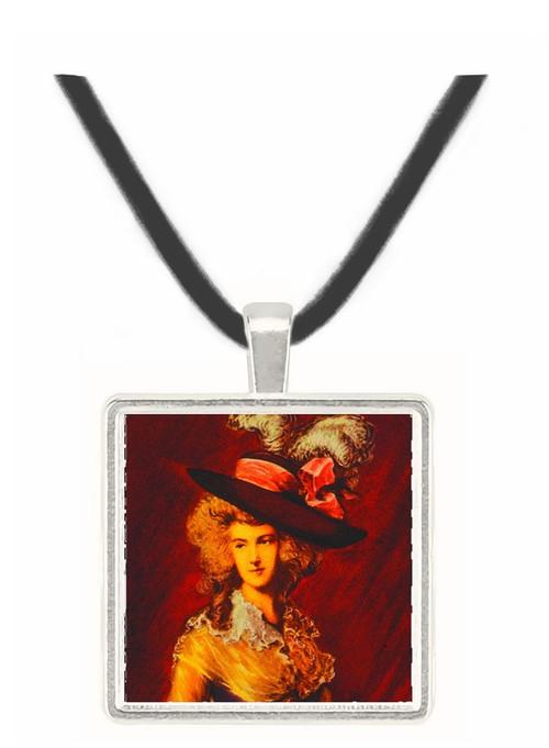 Ritratto - Thomas Gainsborough -  Museum Exhibit Pendant - Museum Company Photo