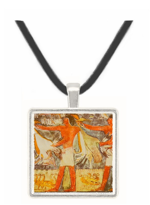 Ritual Offering of Geese and Cranes -  Museum Exhibit Pendant - Museum Company Photo