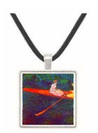 River Epte by Monet -  Museum Exhibit Pendant - Museum Company Photo