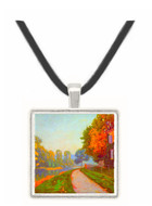 Riverbank by Cailiebotte -  Museum Exhibit Pendant - Museum Company Photo